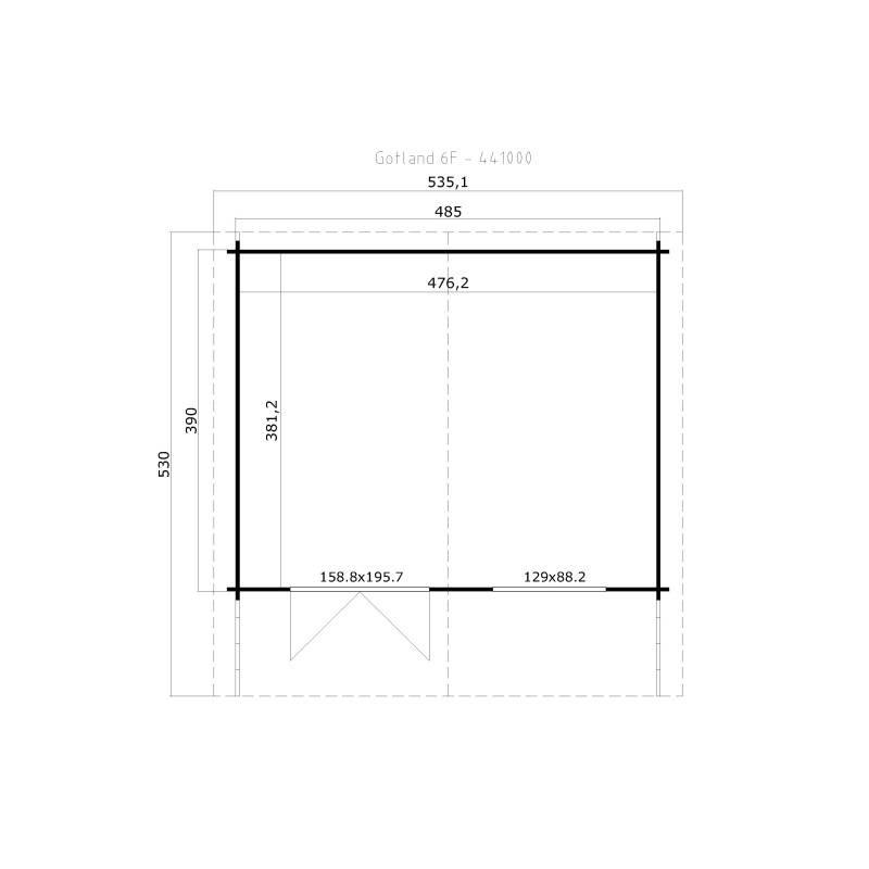Gotland 6 F_441000_foundation plan