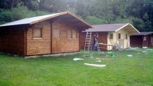 realizáce záhradní chatky 1