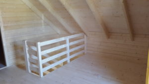 chata schody