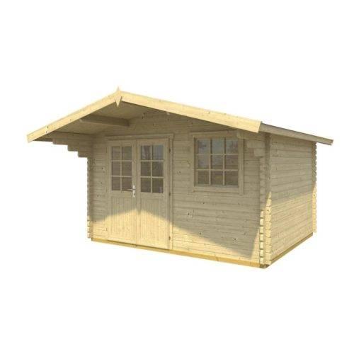 dřevěný domček GOTLAND 5E