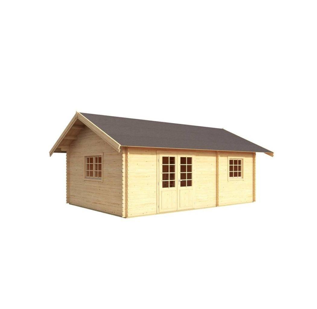 chata ze dřeva