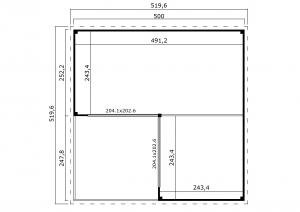 Domeo 6 v2 Groundplan